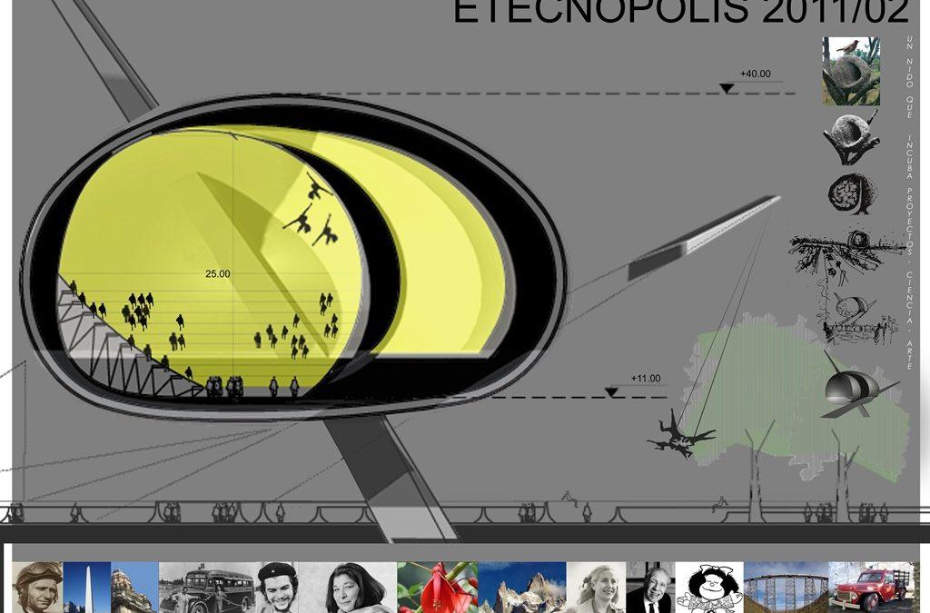 Icono emblema urbano para Tecnópolis [Concurso]